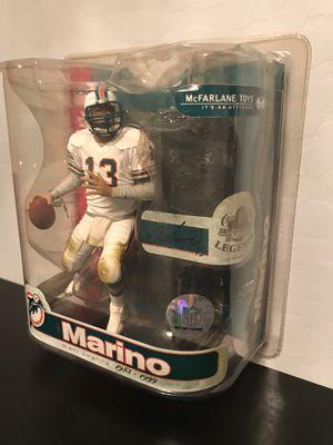 McFarlane Toys NFL Sports Picks Legends Series 3 Action Figure Dan Marino for Sale in Gilbert, AZ