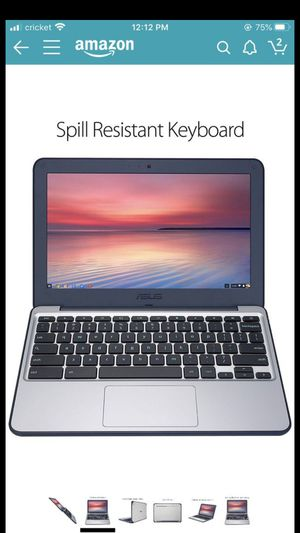 "ASUS Chromebook C202SA-YS02 11.6"" (Intel Celeron 4 GB, 16GB eMMC, Dark Blue, Silver) Opened only once. for Sale in Hillsboro, OR"