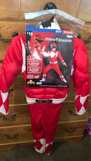 Power Ranger (Red rangerJason)$10 Firm size 4-6 for Sale in San Antonio, TX