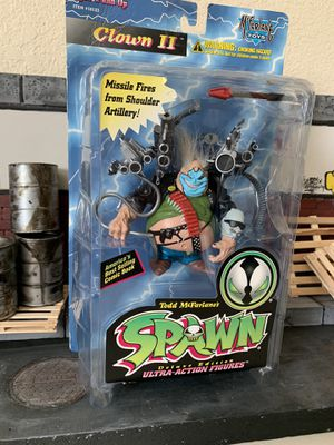 """""""Clown"""" from McFarlanes Spawn new for Sale in Stockton, CA"""