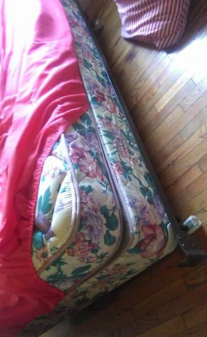 Pillow top bed with frame for Sale in Elizabethton, TN
