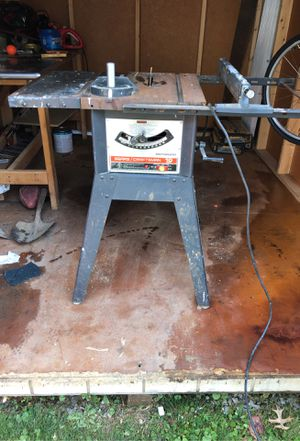 table saw for Sale in Bridgeville, PA