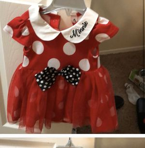 Disney Minnie Mouse Costume for Sale in March Air Reserve Base, CA