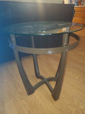 Glass top end table set for Sale in Houston, TX