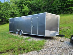2019 box trailer and also is a car hauler for Sale in Martins Ferry, OH