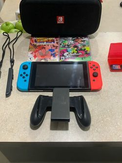v2 Switch with games and box for Sale in Plano,  TX