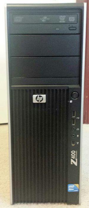 HP Desktop Z400 computer 2.8ghz Six Core new win 10 pro 250gb hd 8gb ram for Sale in Pittsburgh, PA