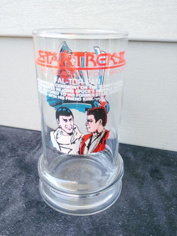 2 Star Trek III Glasses