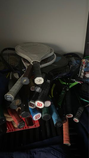 Tennis rackets and racket ball in excellent condition for Sale in Culver City, CA