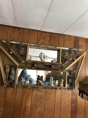 Antique mirror wall frame for Sale in Pawtucket, RI