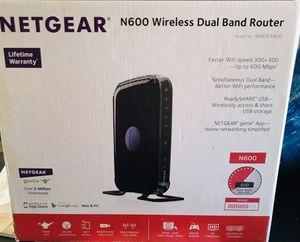 Netgear N600 Wireless Dual Band Router for Sale in Jefferson, GA