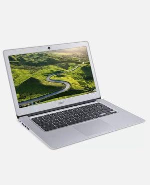 "Acer 14"" HD Chromebook Atom x5-E8000 1.04GHz 4GB RAM 32GB CB343112K1 eMMC Chrome OS Silver for Sale in Livermore, CA"