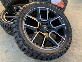 "22"" Chevy Silverado wheels tires rims Tahoe Suburban GMC Sierra Yukon for Sale in Rio Linda,  CA"