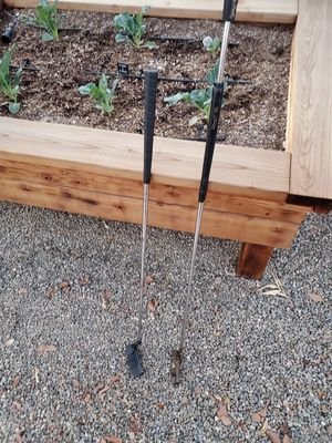 2 putters Dunlap Belly Putter and Regular Putter for Sale in Fresno, CA