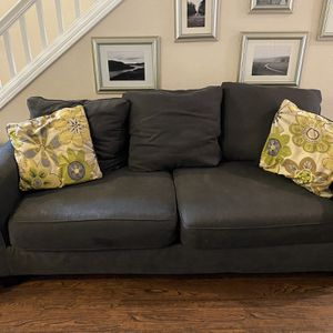 Dark Grey Couch for Sale in Milwaukie, OR