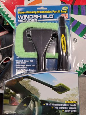 Windshield Wonder Makes Cleaning Windshields Fast & Easy Microfiber Pivoting for Sale in Palo Alto, CA