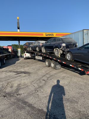 4 car haufman trailer 2020 for Sale in Dallas, TX