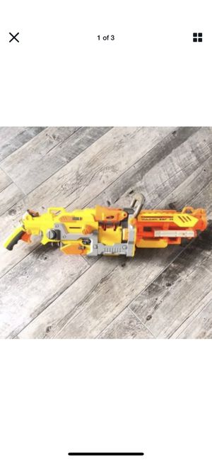 Nerf Vulcan Discontinued Machine Gun Automatic Base Model without belt/bucket for Sale in Las Vegas, NV