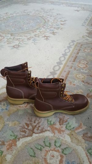 Boots for men size 7 and 1/2 brand new never used for Sale in Kent, WA