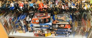 Wwf, Wwe action figure collection, Bobble head, Disney trading pins, kiss figures, Mother's Day gift for Sale in Phoenix, AZ