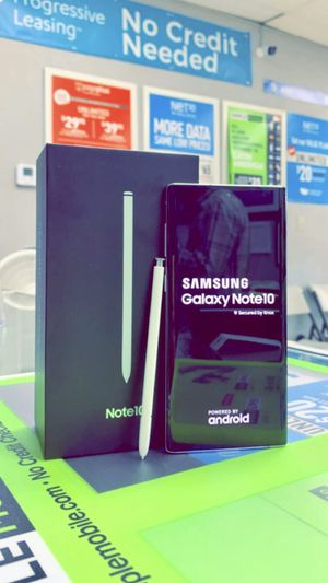 Samsung Galaxy Note 10 256gb Factory Unlocked - Like New! (Cash Deal) for Sale in Arlington, TX