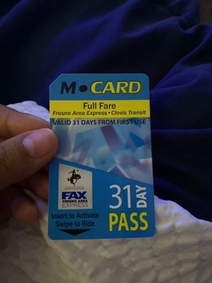 Bus pass for Sale in Fresno, CA