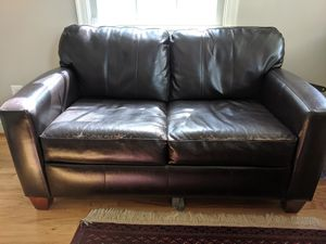 Leather Sleeper Couch for Sale in Washington, DC
