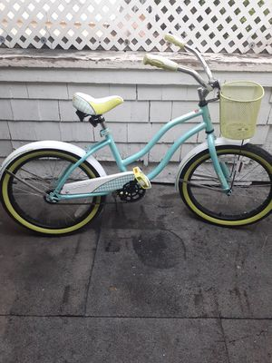 "Huffy summerland beach cruiser girl bike 20"" $120 for Sale in Los Angeles, CA"