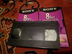 2 blank vhs for Sale in Modesto, CA