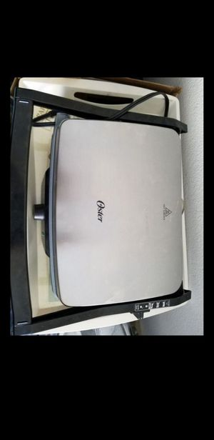 Oster electric grill for Sale in Ladera Ranch, CA