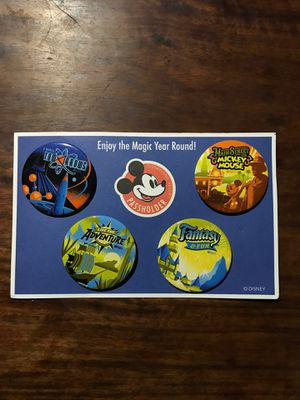 Disney/Disneyland Resort - Annual Passholder Buttons/Pins for Sale in El Monte, CA