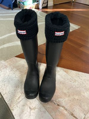 Hunter rain boots 🌂🌧☔️☂️ for Sale in Kent, WA