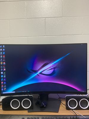 Dell 1440p curved gaming monitor (165 hz) for Sale in Cape Coral, FL