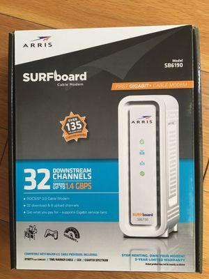 ARRIS surfboard cable modem for Sale in Phoenix, AZ