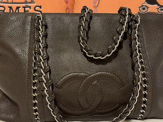 uthentic Chanel Luxury Line Black Lambskin Leather Shoulder Bag for Sale in Beaverton,  OR