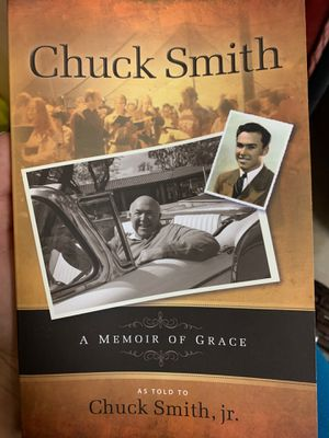 Chuck Smith - A Memoir of Grace for Sale in Carlsbad, CA