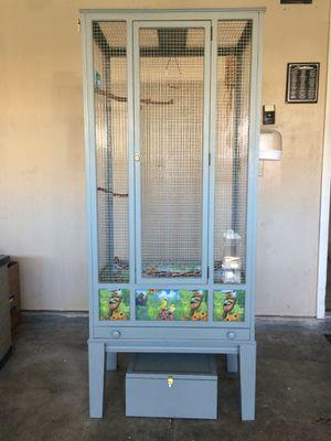 Large custom bird cage for Sale in Las Vegas, NV