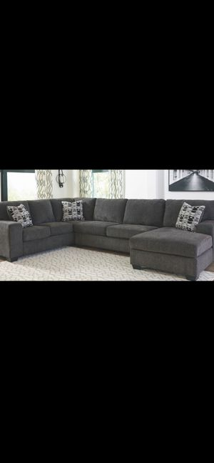 Brand new! Urban comfy sofa chaise sectional with pillows!! for Sale in Escondido, CA