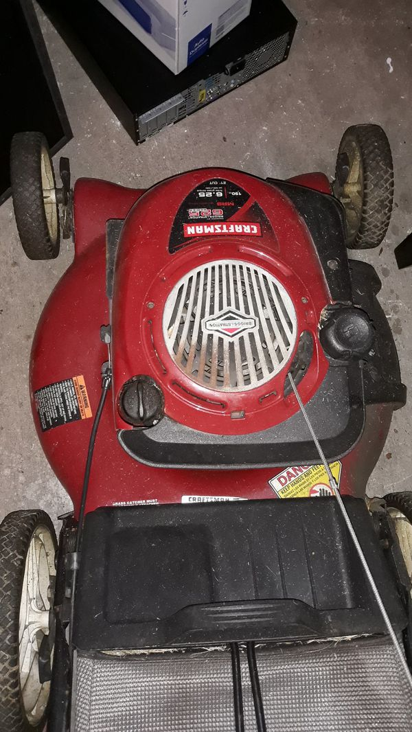 Craftsman Lawnmower For Sale In Pembroke Pines Fl Offerup