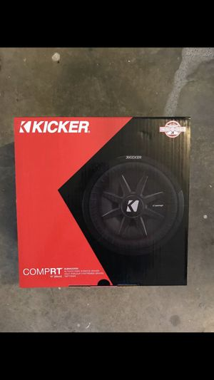 Kicker compRT 10 inch shallow subwoofer for Sale in Chino Hills, CA