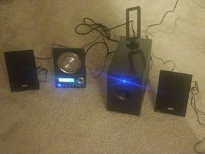 Teac CD-X10i Ultra Thin stereo System CD, Aux, ipod, for Sale in Belleville, MI