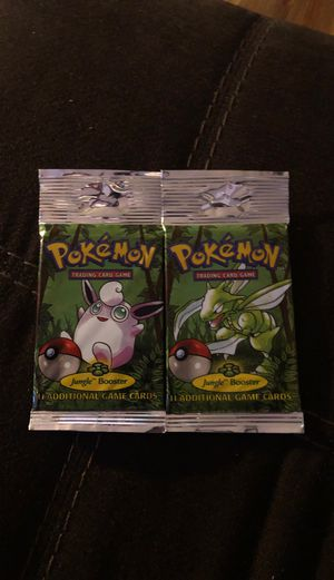 Jungle booster packs factory sealed unweighed for Sale in Jasonville, IN
