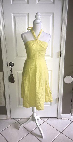 J Crew Halter Dress Sz 2 Yellow for Sale in Lexington, KY
