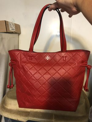 Tory Burch Oversized Leather Authentic Shoulder Tote for Sale in Lake Worth, FL