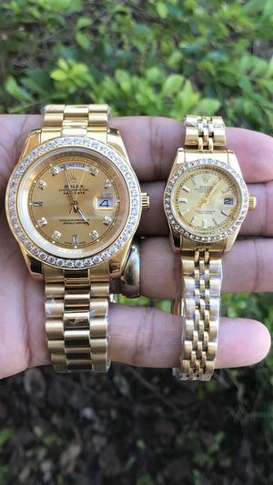 Luxurious watch his and hers 👫💎 for Sale in Kissimmee, FL