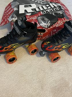 Rock Flame Roller Skates Size 7 for Sale in Graham,  NC