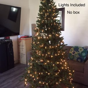 Artificial Christmas Tree 7.5Ft' Clear Lights for Sale in Norwalk, CA