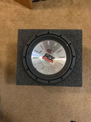 Mtx audio sub for Sale in DuPont, WA