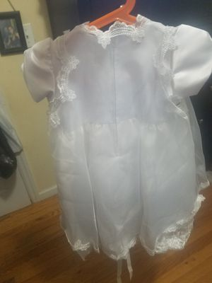 Girl baptism dress for Sale in Queens, NY