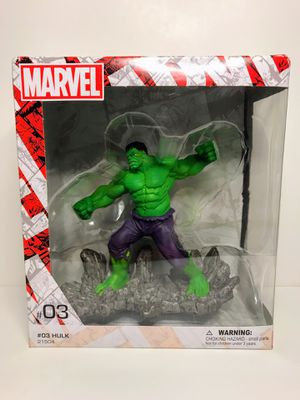 SCHLEICH HULK #03 MARVEL FIGURE HAND PAINTED for Sale in Acworth, GA